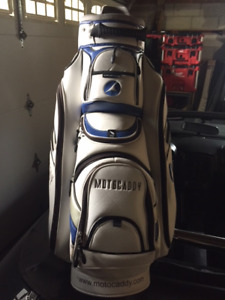 Golf Cart Bag and left handed sand wedge