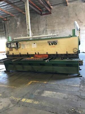 Lvd 14 X 13 Ft. Hydraulic Shear 5642