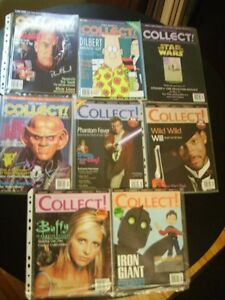 COLLECT MAGAZINE BACKISSUE COLLECTION 1999 LOT OF 8 ISSUES A++