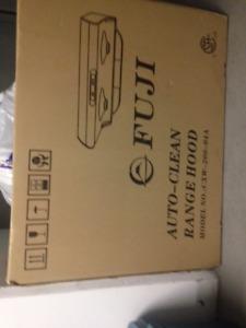 "Fiji Auto Clean Range hood stainless steel 30"""