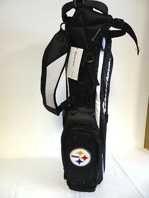 "TaylorMade MicroLite 2.0 Stand Bag ""Steelers"" Black/White NEW 6313"