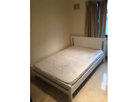 Almost new Double bed frame and mattress & Sofa bed