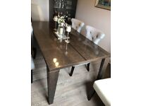 Beautiful Solid Wood Dining Table with 6 Chairs   RRP £1,399