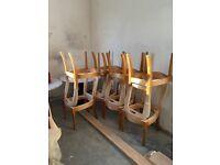 Dining chair frames