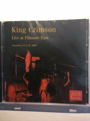 King Crimson - Live at Fillmore East Nov 21/22,1969 Club CD 25 NEU (Fripp, (King Crimson Live At Fillmore East 1969)