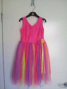 party dress or dressup - girls rainbow dress size 5 Warriewood Pittwater Area Preview