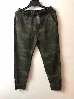 Abercrombie & Fitch Men's active Jogger pants Camo--Large Size