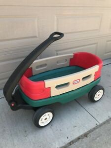 Kids Little Tikes wagon