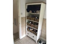 Bedroom or bathroom storage unit available for sale
