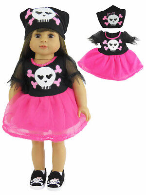 Pirate Hat For Girls (Pink Pirate Skull & Bones Halloween Costume For 18