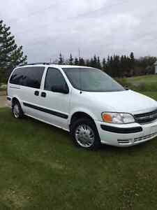 2002 Chev Venture  Van, out of province (Sask) in AB Reduced $ Strathcona County Edmonton Area image 1