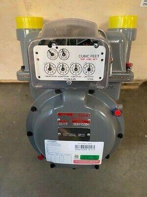 Itron 400a Gas Meter Ansi Class 400 Gas Air Capacity 400308 Cfh 12 W.c.