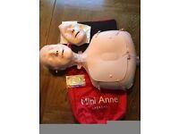 Mini Anne Plus (single) Light Skin with pump bag