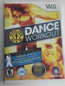 Gold's Gym Dance Workout for Nintendo Wii