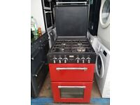 55cm Red&Black 'Stoves' Dual Fuel Cooker - Excellent Condition / Free local delivery