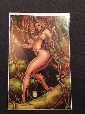 CAVEWOMAN ZOMBIE SITUATION #1 CVR F LIMITED 625 PIECES COA