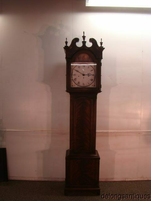 62625: Howard Miller Mahogany Grandfathers Clock