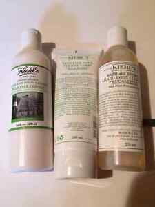 KIEHL'S: LOTION, GOMMAGE AND SHOWER CLEANSER