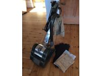 FLOOR SANDER HIRETECH HT8 240v Good used condition plus abrasives etc