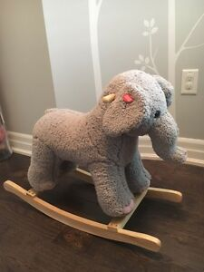 *Nursery Elephant Rocker*
