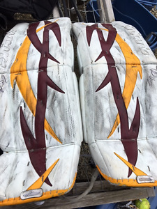 Elite Goalie Equipment - Best Offer This Weekend at Garage Sale!