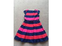 Matalan Lovely Stripy Dress NEW with Tags Age 9