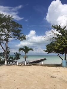 One Acre on Sandy Beach in Sarteneja, Belize