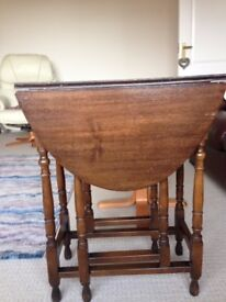 Oval Gate Legged table