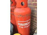 Calor Gas bottles 47kg X3 empty