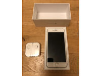 5 MONTH OLD IPHONE 6 - 64GB - WHITE - AS NEW - BARGAIN!!!
