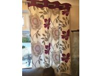 Next Living Room Curtains for sale
