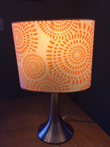 Funky Orange Table Lamp
