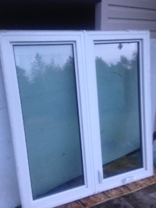 Casement window 47 x 51 1/2 inches