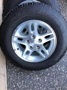 Jeep Grand Cherokee alloy wheels 225/75/16 4wd tyres Port Macquarie Port Macquarie City Preview