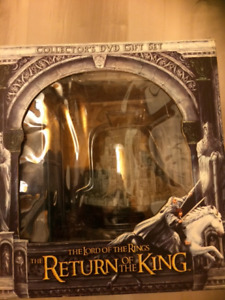 Lord of the Rings Return of the King Collector's DVD Box set
