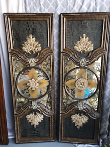 Rare, One of a Kind Wall Panels