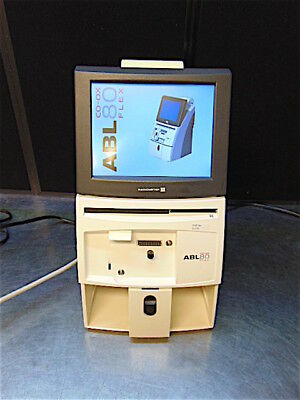 Abl 80 Flex Co-ox Blood Gas Analyzer 393-841 - Powers Up - Clean - S3149bx