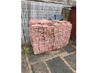Paving Bricks - red - over 25m2