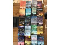 20 JACK REACHER BOOKS BY LEE CHILDS ALL IN VERY GOOD CONDITION. PAPERBACK VERSIONS