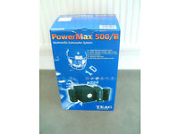TEAC POWER MAX 500/B MULTIMEDIA SUBWOOFER SYSTEM IN ORIGINAL BOX AND PACKAGING -- UNUSED --