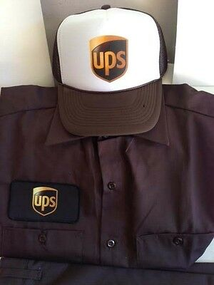 UPS Delivery Man Driver Top Quality Uniform Mens Halloween Costume male stripper](Top Quality Halloween Costumes)