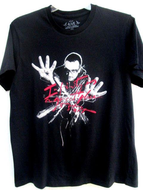 U2...2009 360 DEGREES TOUR...CONCERT...T-SHIRT...NEW...sz L