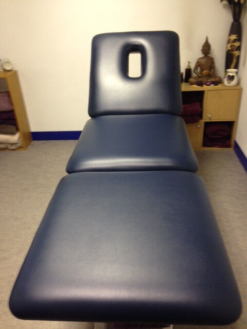 Physiotherapy 3 section treatment couch