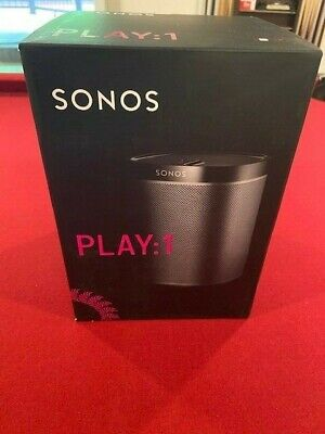 Sonos Play:1 (Play 1) Wi-Fi Speaker - Complete with Instructions and Box