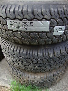 WANTED: 4 Good 235-75-15 tires for Full Size Van