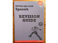 AQA GCSE SPANISH REVISION GUIDE BOOK FOR SALE !
