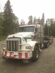 Kenworth T800 and Aspen Lowbed