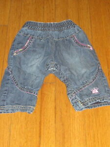 MEXX INSULATED JEANS BABY 3-6 MONTHS