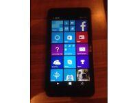 Microsoft (nokia) lumia 640 lte smart phone sim free unlocked to any network