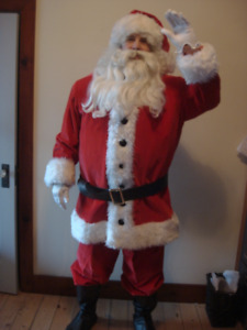 Deluxe Santa Suit with Accessories